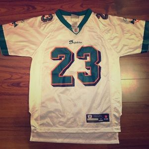 NFL Vintage Miami Dolphins #23 Roney Brown Jersey